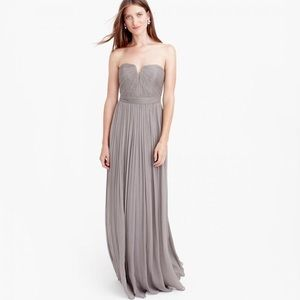 + J CREW + Nadia Bridesmaid/Formal Chiffon Dress